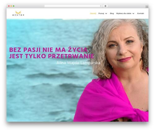 neve best WordPress template - alinawajda.pl