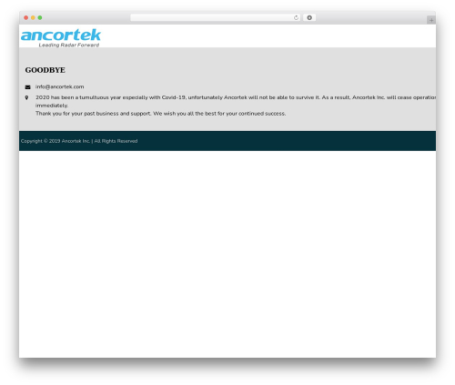 WordPress theme AccessPress Staple Pro - ancortek.com