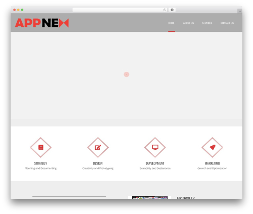 Applay WordPress template - appnex.org