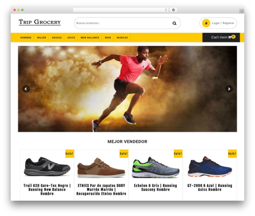 Ecommerce Solution WordPress shopping theme - tripgrocery.com