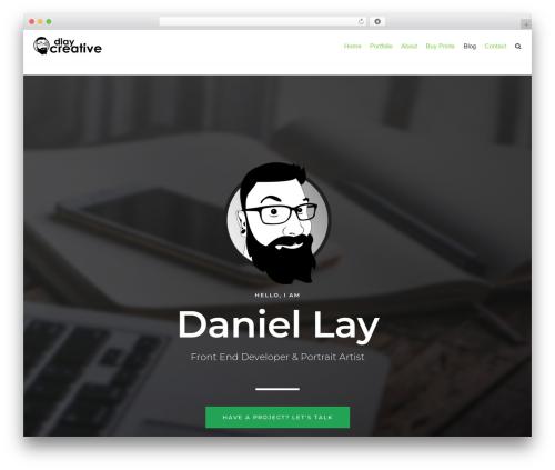 Best WordPress template neve - dlay.net