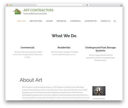 Pet Business theme WordPress - artcontractorsgroup.com