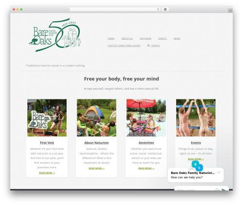 WordPress theme Brigsby Premium - bareoaks.ca