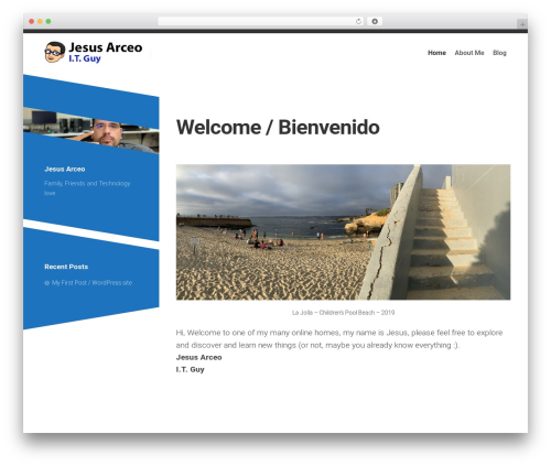 Minimer WordPress theme - arceo.co