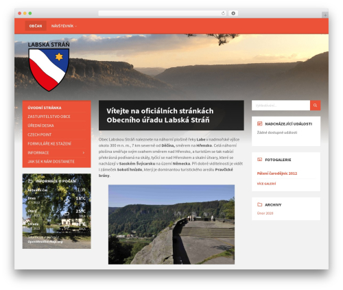 TownPress best WordPress theme - labskastran.cz