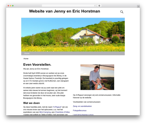 Weaver Xtreme WordPress theme free download - horstman.info