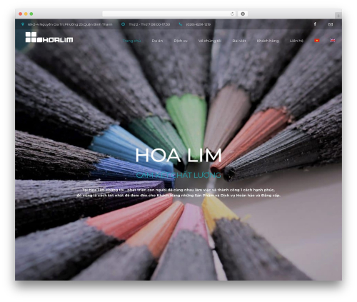 WordPress theme BuildPro - hoalim.com