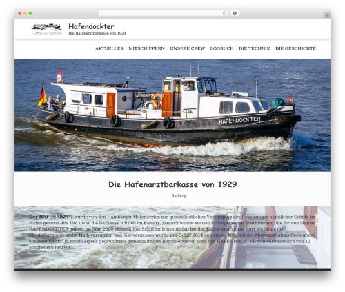 FotoGraphy best free WordPress theme - hafendockter.de