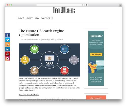 Template WordPress Serdika - hireseoexperts.org