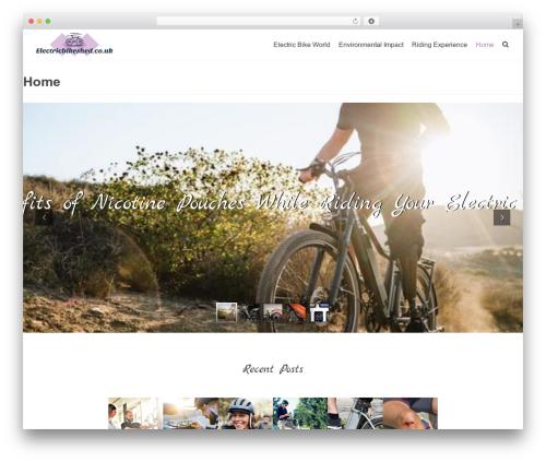 Theme WordPress Neve - electricbikeshed.co.uk