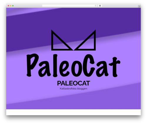 Head Blog WordPress blog theme - paleocat.se
