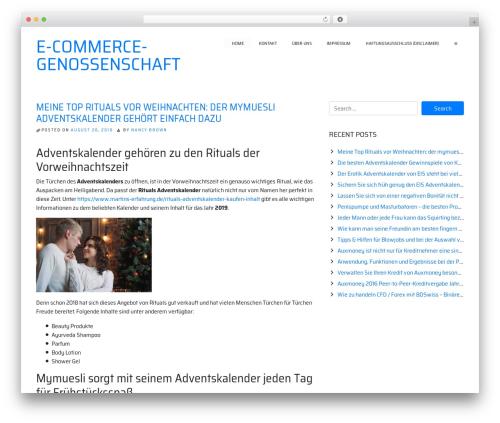 ioBoot WP template - e-commerce-genossenschaft.de