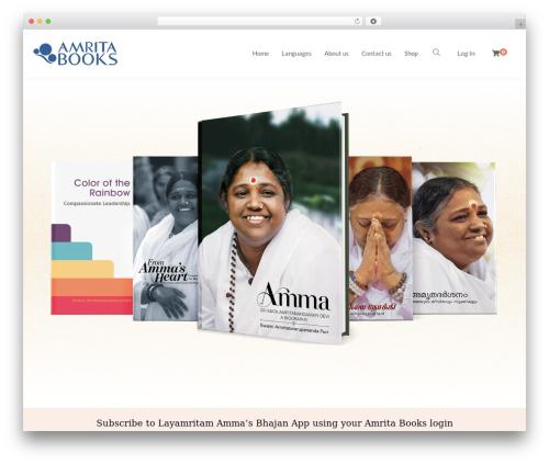 Livre best WordPress theme - amritabooks.in