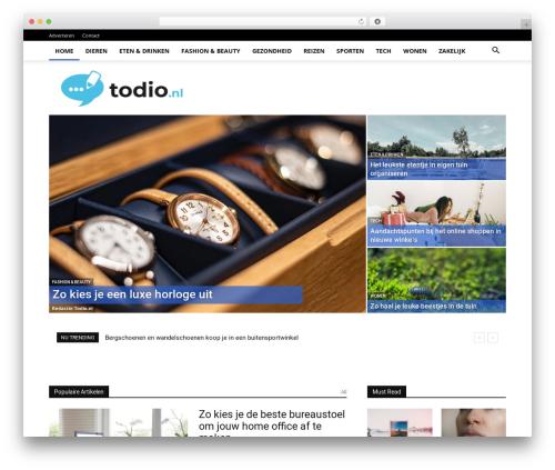 Newspaper newspaper WordPress theme - todio.nl