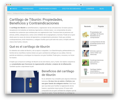 SociallyViral by MyThemeShop WordPress ecommerce template - cartilagodetiburon.net